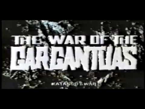 The War of the Gargantuas (1966) - English Export Credits