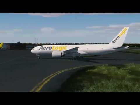 Airline2Stream 2 PMDG Boeing 777F Stockholm - Helsinki /Dubai - Doha
