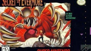 Secret of Evermore / 1995 Super Nintendo / All Boss Battles