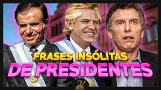 Frases insólitas de Alberto Fernández y otros presidentes