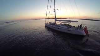 Swan 90 Panacea Maiden Voyage