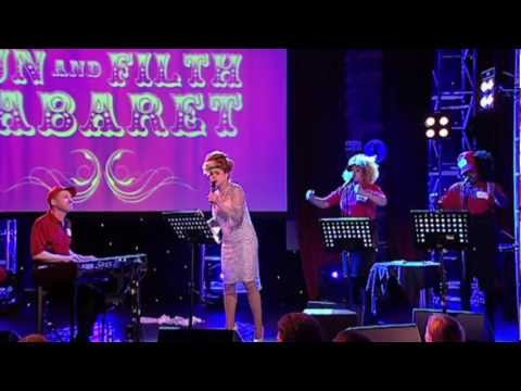 Paloma Faith sings Picking Up The Pizza - Fun and Filth Cabaret 2012: Day 3