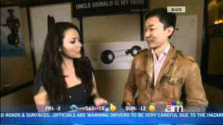 Uncle Oswald is my Hero, Jinsop Lee interviewed at CES 2012