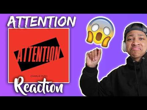 Charlie Puth - Attention [Official Video] | Reaction