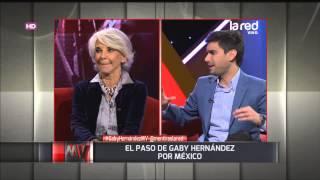 Gaby Hernández recuerda su vida fuera del país siempre quise conocer el mundo