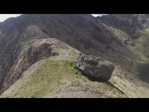 Y Gribin route, Snowdon