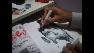 Speed Drawing: Ian Curtis