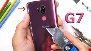 LG G7 ThinQ Durability Test! - Scratch, Burn, BEND tested!