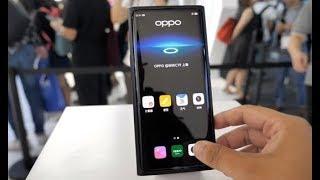 中国科技再次惊艳世界,未来已来:OPPO屏下摄像头体验