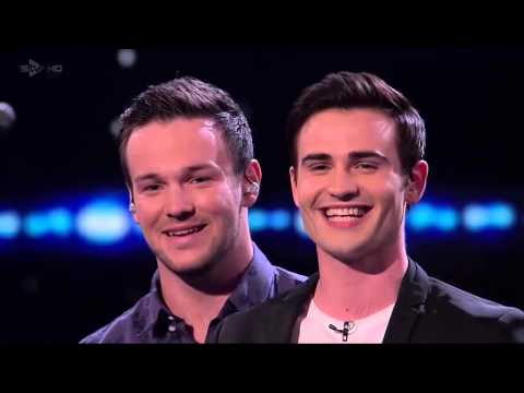 MUSICAL THEATRE Boy Band Collabro Sings Bring Him Home FULL - Britains Got Talent Semi Finals
