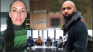 IG Model Yesjulz EXP0SES Joe Budden & D!SSES His GF Cyn Santana