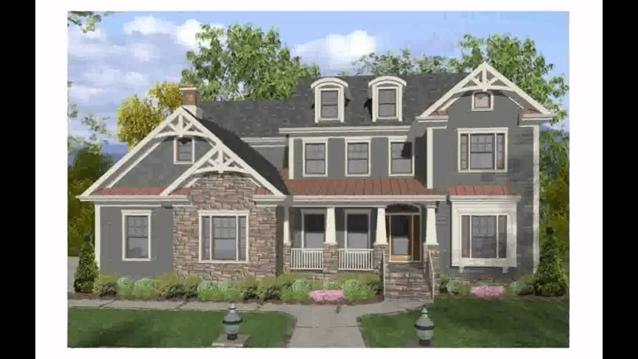 Craftsman style homes youtube for Home architecture you tube
