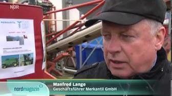 Traktoren für Russland , Betriebsgelände Firma Merkantil