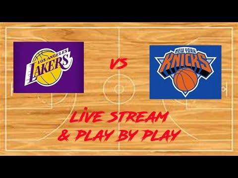 New York Knicks Vs LA Lakers Live Stream