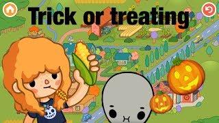 Toca life farm | Trick or Treat!!