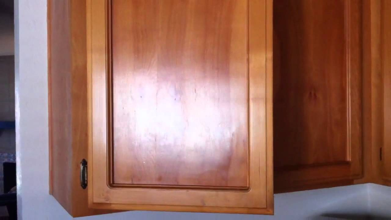 Spooky Face in Cabinet! Plus won't close! - YouTube