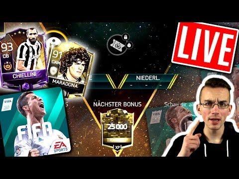 FIFA 18 MOBILE: Live 😱🔥 NEW TOURNAMENT!!! Ich rieche Maradona!!!