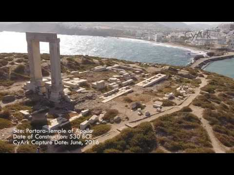 Temple of Apollo on the island of Naxos