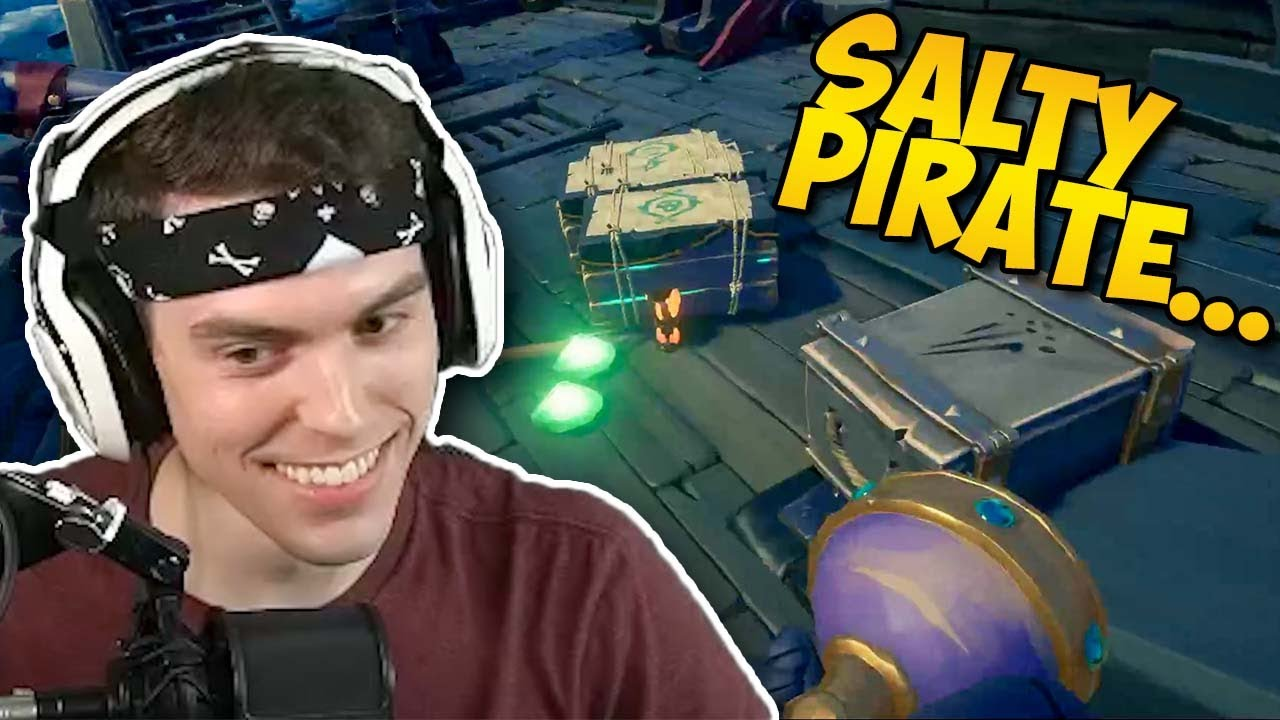Stealing Athena Loot from a Salty Pirate 😬