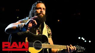 Elias dedicates a song to his Triple Threat Match foes: Raw, July 16, 2018
