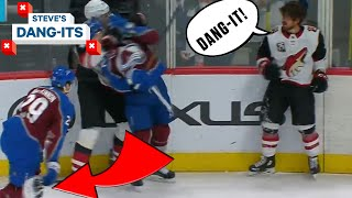 NHL Worst Plays Of The Week: Why Are You Throwing Helmets!? | Steve's Dang-Its