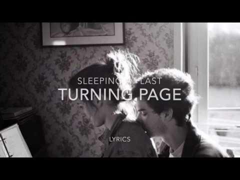 Turning page - Sleeping at last lyrics