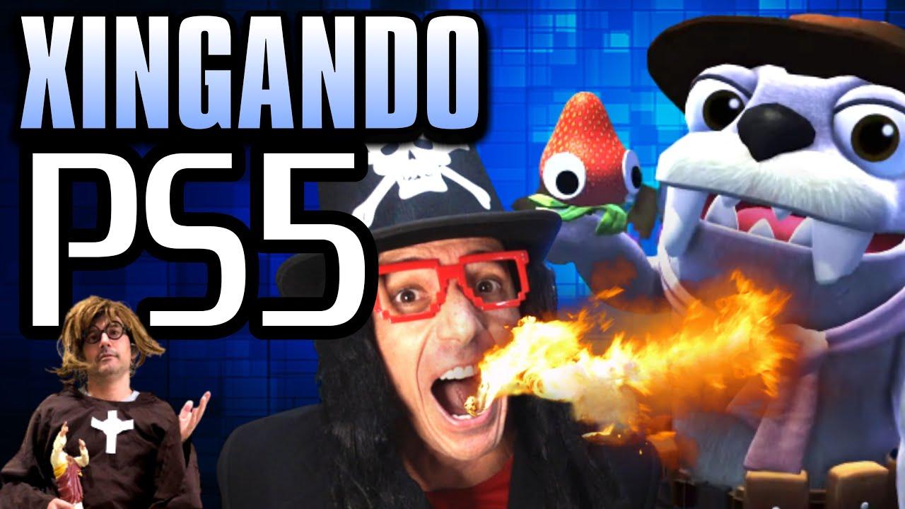 XINGANDO o PS5 🎮 Jogos da state of Play 🕹️ Irmãos Piologo Games