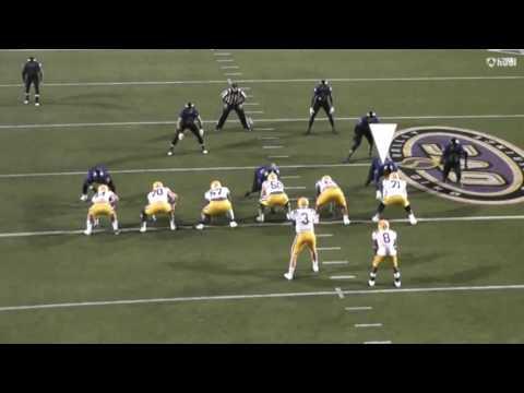 2016 Highlights - Jarvis Williams, D-line, EIU