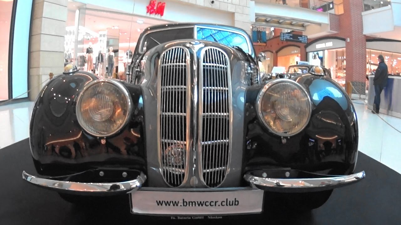 1939 BMW-327/28 Coupe - YouTube