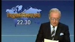 ARD Tagesschau Verabschiedung Karlheinz Köpke 11.09.1987