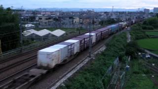 Video 5083レ貨物列車 EF66-33牽引 EF66・100番台回送付 download MP3, 3GP, MP4, WEBM, AVI, FLV Desember 2017
