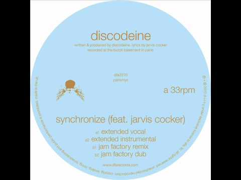 Discodeine - Synchronize feat. Jarvis Cocker (Jam Factory Remix) [audio only] mp3