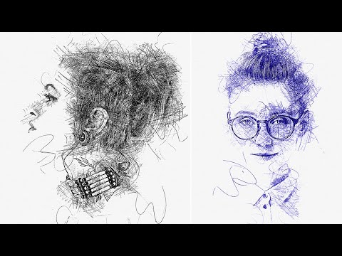 Ink Pen Sketch Photoshop Effect | Adobe Photoshop Tutorial