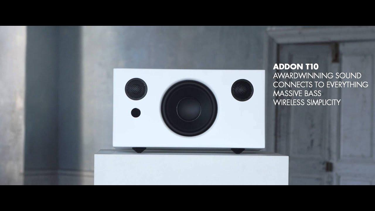 audio pro addon  award winning wireless stereo speaker youtube