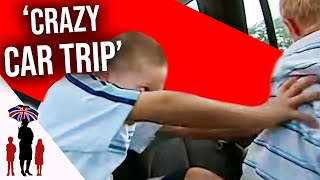 Mother Fights With Kid During Car Journey | Supernanny