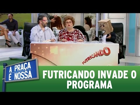 A Praça é Nossa (18/08/16) - Futricando invade o programa