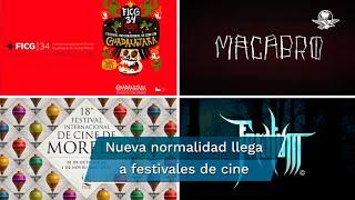 Con recursos limitados, menos colaboradores y algunos con números rojos, los festivales de cine en México regresan esta temporada