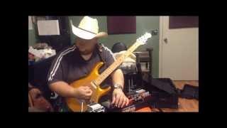 Johnny Hiland Barber Electronics pedal demo