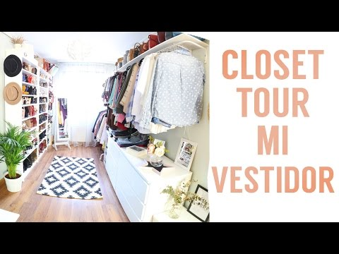 Closet tour   Mi vestidor