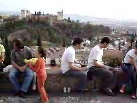 Granada: Mirador De San Nicolas, 3/28/2008