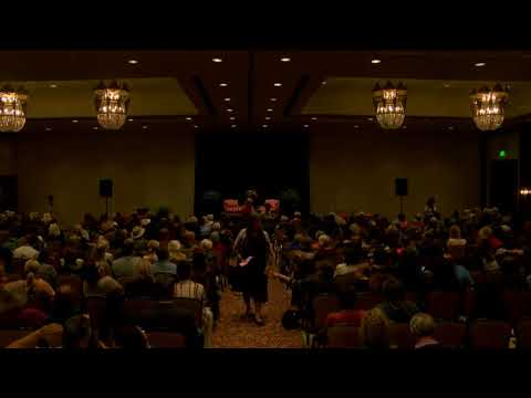 Melinda Vail & James Van Praagh LIve on stage