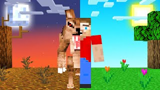 Turn Into WEREWOLVES In MINECRAFT!