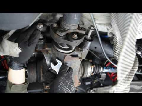 How to BMW 1 3 series replacing the differential DIY Tutorial