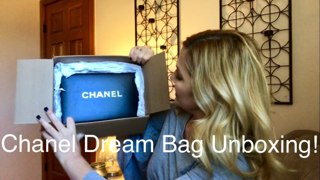 9b428358aea6 Chanel Dream Bag Unboxing!! - YouTube
