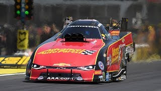 Courtney Force is the new Funny Car points leader after winning in Atlanta