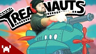 A PHYSICS-DEFYING TANK GAME | Treadnauts w/ Ze, Chilled, GaLm, & Smarty