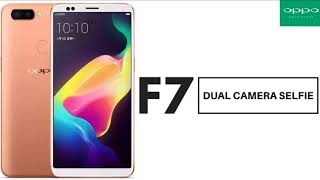 HOT NEWS!!! Oppo F7 Smartphone Announced, Has A Notch And A 25 Megapixel Selfie Camera