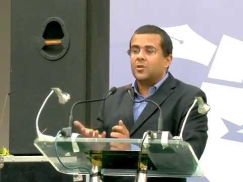 Chetan Bhagat 5 Mantras Of Success Vidya Knowledge Park Youtube