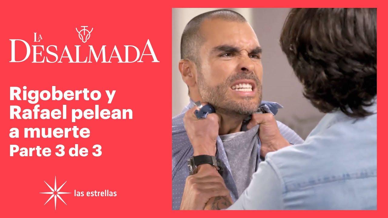 La Desalmada 3/3: Rigoberto le revela a Rafael que el hijo que espera Isabela es de él | C-77