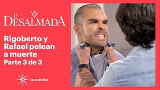 La Desalmada 3/3: Rigoberto le revela a Rafael que el hijo que espera Isabela es de él | C77